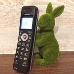 うさぎ電話 画像